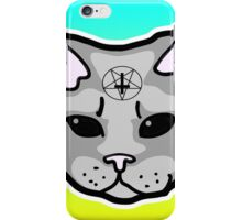 Satanic Cat  iPhone Case/Skin