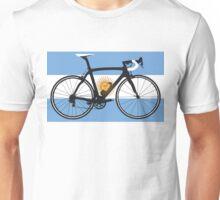 Bike Flag Argentina (Big - Highlight) Unisex T-Shirt