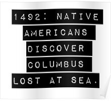1492 Native Americans Poster