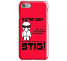 The Stig - Glow in the Dark Teeth iPhone Case/Skin
