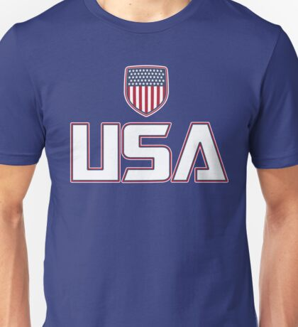 USA - United States of America Unisex T-Shirt