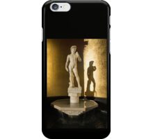 Michelangelo's David and his Shadow iPhone Case/Skin
