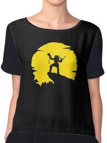 Predator Sun Chiffon Top