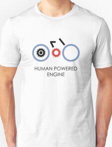Human Powered Engine Black T-Shirt