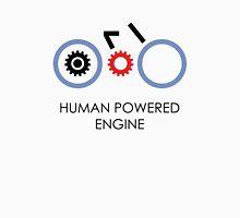 Human Powered Engine Black Unisex T-Shirt