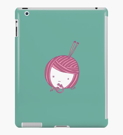 Pink Knit iPad Case/Skin