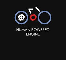 Human Powered Engine White Unisex T-Shirt