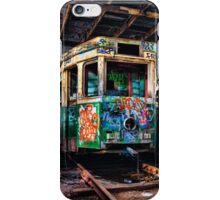 tram shed iPhone Case/Skin