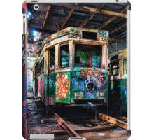 tram shed iPad Case/Skin