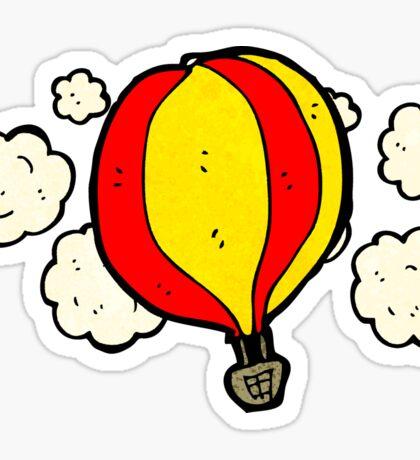 hot air balloon cartoon Sticker