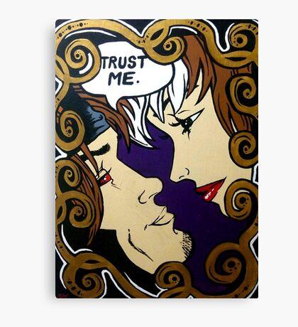 trust me Canvas Print