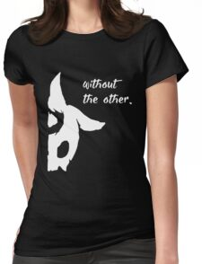 Kindred - Without the other Womens Fitted T-Shirt