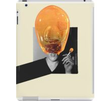 Glass Man Portrait. iPad Case/Skin