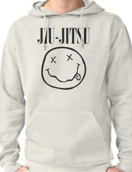 Brazilian Jiu-Jitsu - Smells Like Jiu-Jitsu (BJJ) Pullover Hoodie
