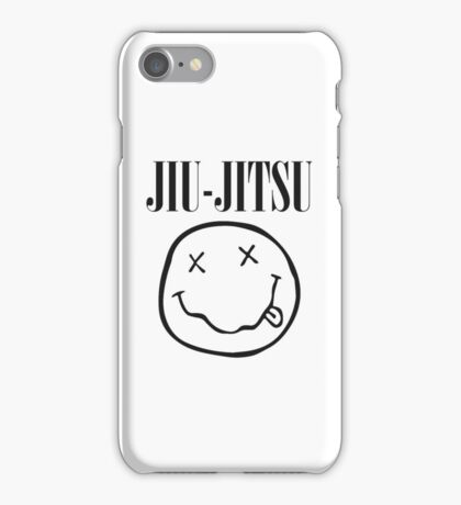 Brazilian Jiu-Jitsu - Smells Like Jiu-Jitsu (BJJ) iPhone Case/Skin