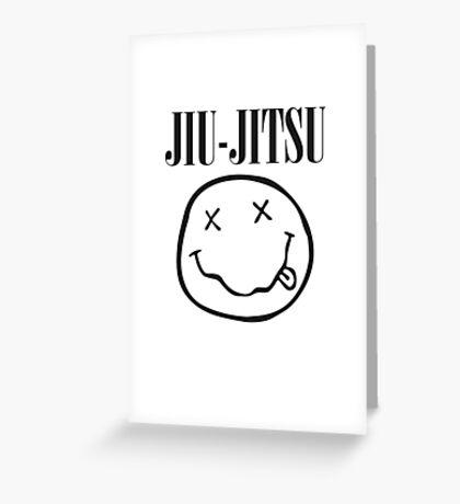 Brazilian Jiu-Jitsu - Smells Like Jiu-Jitsu (BJJ) Greeting Card