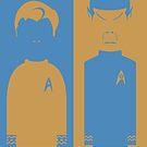 Kirk & Spock by Mrdoodleillust