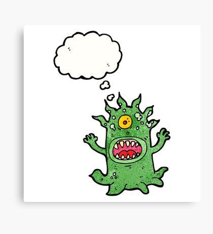 cartoon monster Canvas Print