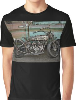 Rusty Indian Scout Bobber Graphic T-Shirt
