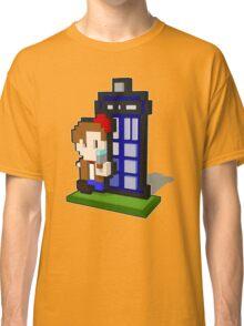 3D PIXEL - DOCTOR WHO (MATT SMITH) Classic T-Shirt
