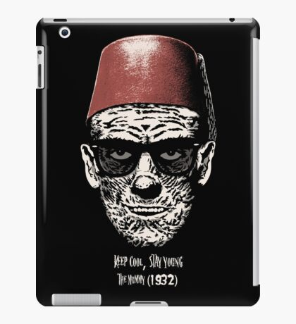 Keep cool, stay young. iPad Case/Skin