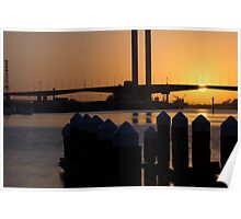 Bolte at Sunset Poster