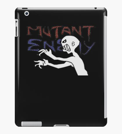 Mutant Enemy  iPad Case/Skin