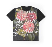 LOVE AND JUSTICE Graphic T-Shirt