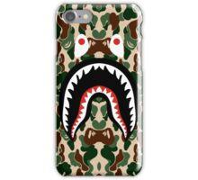 BAPE SHARK WOODLAND iPhone Case/Skin