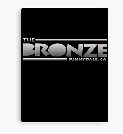 The Bronze at Sunnydale (Buffy the Vampire Slayer) Silver Canvas Print