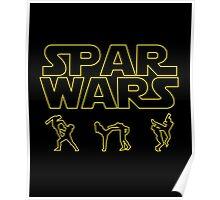 SPAR WARS TAEKWONDO MMA KARATE Poster