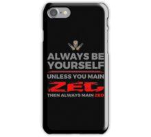Zed Main iPhone Case/Skin