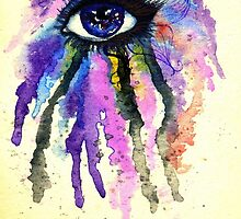 Watercolor Eye by AnnArtshock