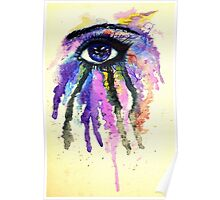 Watercolor Eye Poster