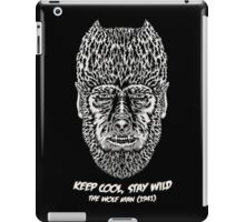 Keep cool, stay wild. iPad Case/Skin