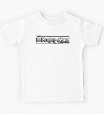 The Bronze at Sunnydale (Buffy the Vampire Slayer) Silver Kids Tee