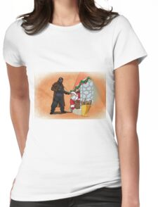 Omar Little strikes again Womens Fitted T-Shirt
