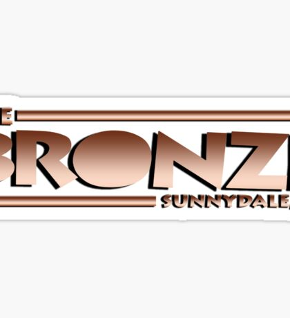 The Bronze at Sunnydale (Buffy the Vampire Slayer) Sticker