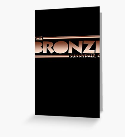 The Bronze at Sunnydale (Buffy the Vampire Slayer) Greeting Card