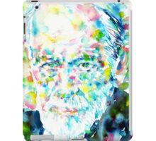 SIGMUND FREUD - portrait.1 iPad Case/Skin