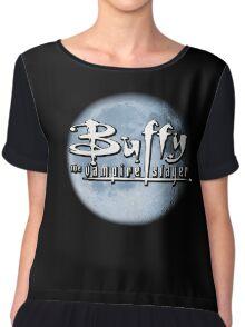 Buffy logo Chiffon Top