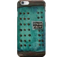 Door With Many Knobs iPhone Case/Skin