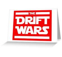 Drift Wars Greeting Card