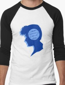 Ten silhouette Men's Baseball ¾ T-Shirt