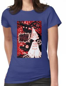 Temptation of the Beast Womens Fitted T-Shirt