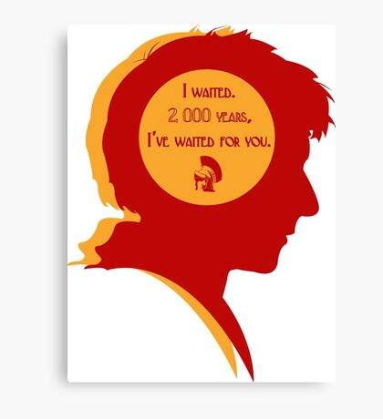 Rory silhouette Canvas Print
