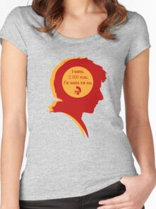 Rory silhouette Women's Fitted Scoop T-Shirt