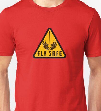 Fly Safe Sign Unisex T-Shirt