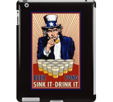 Beer Pong iPad Case/Skin