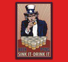 Beer Pong by gilbertop